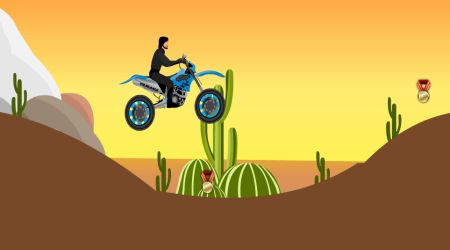 Screenshot - Desert Motorcycle Ride
